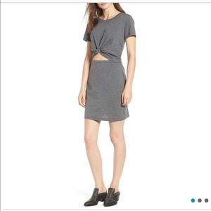 Socialite Knot Front Cut-Out Dress